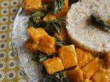 Curry de Kale & butternut ~ Vegan ~