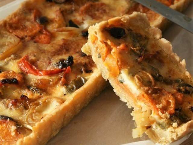 Les meilleures recettes v g tariennes de cuisine bio - Tarte aux poireaux sans oeufs ...