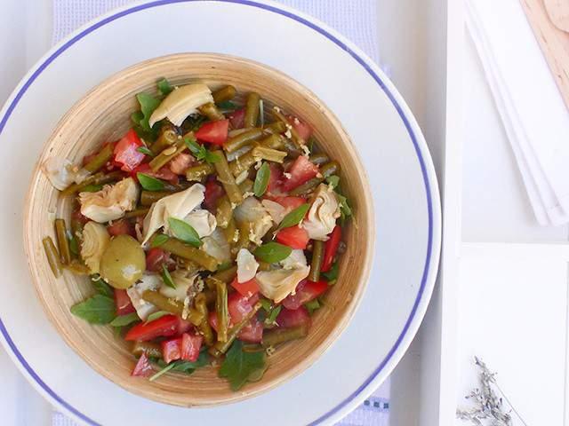 Recettes v g tariennes de salade italienne - Cuisine italienne blog ...