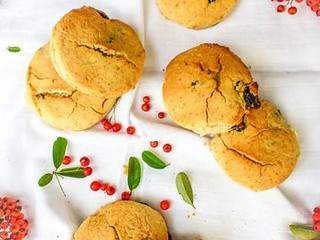 Scones sans gluten aux cranberries #vegan