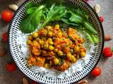 Curry de pois chiche et courges