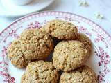 Cookies aux flocons de quinoa (vegan, option sans gluten)