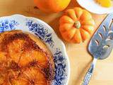 Gâteau renversé, orange & potiron { Upside-down cake } - Battle Food #36