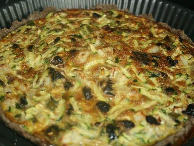 Recettes v g tariennes de tarte courgettes - Blog cuisine bio saine ...