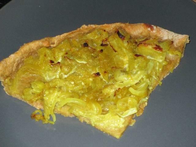 Recettes v g tariennes de quiche aux oignons - Cuisine bio vegetarienne ...