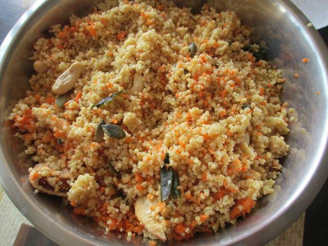 Recettes v g tariennes de taboul de millet - Cuisine bio vegetarienne ...