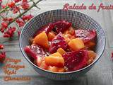 Salade de fruits jolie : Pitaya et mangue