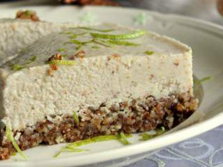 Iced raw lime no-cheese cake – #Vegan