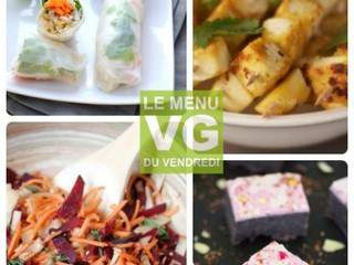 Menu vg du Vendredi : veggie poisson d'avril