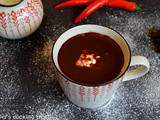 Chocolat chaud onctueux au chili | Del's cooking twist