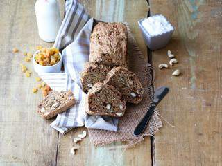 Soda bread aux fruits secs