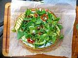 Pizza Vegan sans gluten [Quinoa power]