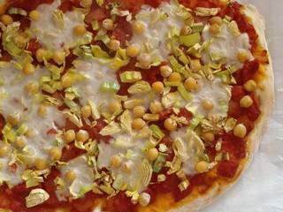 #Vegan Pizza fond de placard