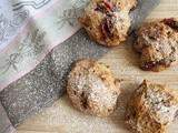 Scones aux quetsches (vegan)