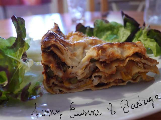 Recettes v g tariennes de lasagnes v g tariennes - Blog cuisine vegetarienne ...