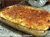 Penne and cheese , gratin de pâtes