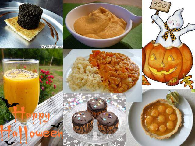 Recettes v g tariennes de halloween de l 39 assiette v g tarienne - Blog cuisine vegetarienne ...