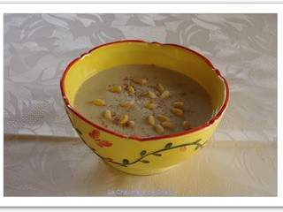 Soupe aux topinambours