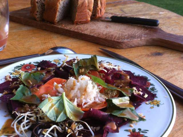 Recettes v g tariennes de la cuisine de beauregard for Stage cuisine lorraine