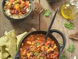 Chili con tempeh #vegan