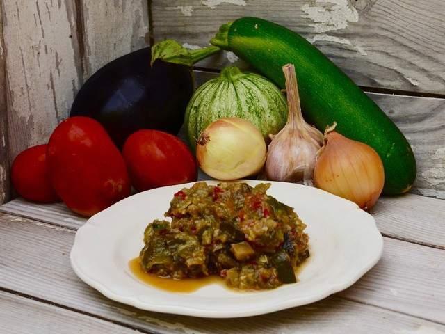 Recette v g facile de ratatouille les recettes v g tariennes de ratatouille les plus faciles - Recettes vegetariennes faciles et rapides ...