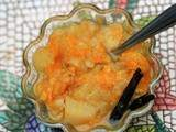 Compote poire - orange - vanille