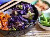 Stir-fry de chou rouge // Red cabbage stir-fry