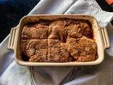 Dessert made in the usa – Peach cobbler