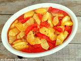 Gratin de pomelos et ananas au gingembre (Gratin of grapefruit and pineapple with ginger)