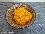 Purée de patates douces (Mashed Sweet Potatoes)