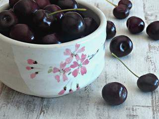 Fondant au chocolat et aux cerises - Flourless chocolate fondant with cherries