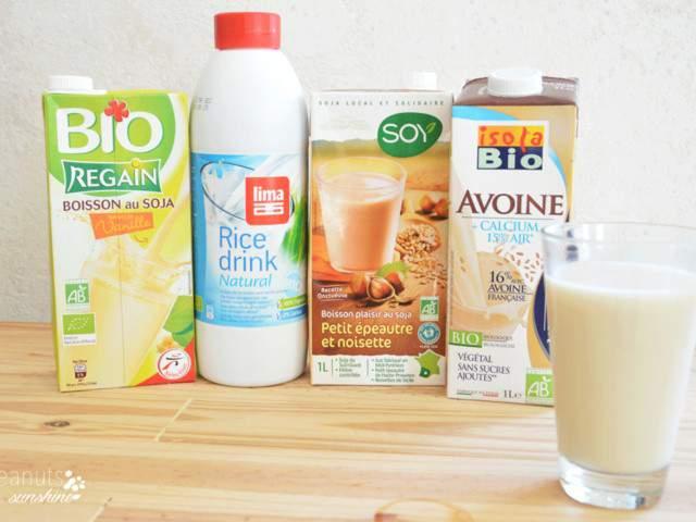 Recettes v g tariennes de lait de peanuts and sunshine - Blog cuisine bio vegetarienne ...