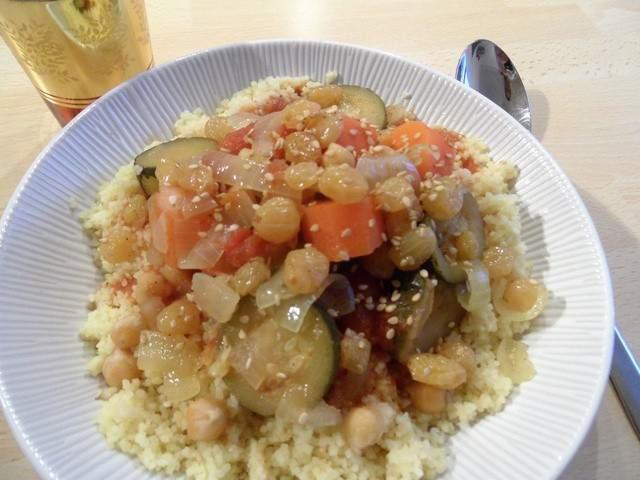 Recettes v g tariennes de couscous de quatre saisons dans for Asticots dans ma cuisine