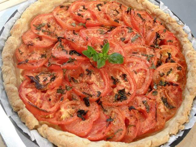 Recettes Vegetariennes De Tarte Fine A La Tomate