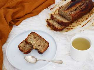 Banana bread facile (vegan)