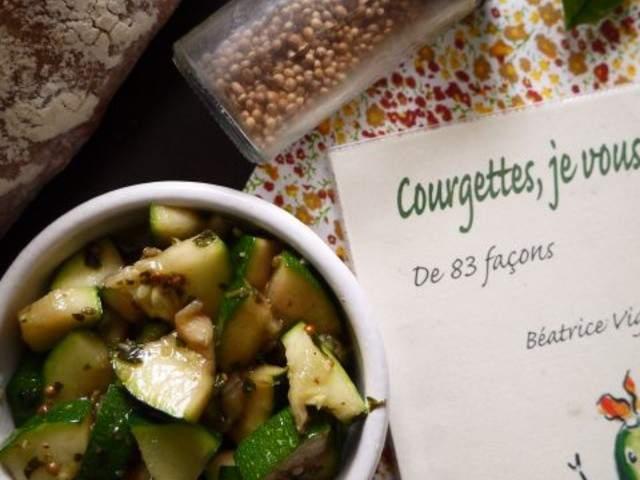Recettes v g tariennes de salade de courgettes - Blog cuisine bio vegetarienne ...