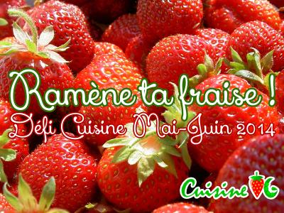 Défi Ramène ta fraise !