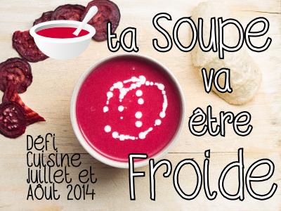 Défi Ta soupe va être froide !